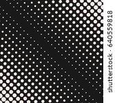 vector halftone dots pattern ... | Shutterstock .eps vector #640559818