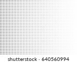 abstract halftone dotted... | Shutterstock .eps vector #640560994