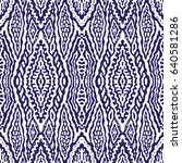 vector abstract seamless... | Shutterstock .eps vector #640581286
