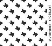 texas map seamless pattern ...   Shutterstock .eps vector #640581664