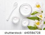 body shaping cosmetic cream... | Shutterstock . vector #640586728