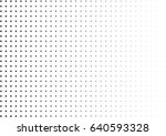 abstract halftone dotted... | Shutterstock .eps vector #640593328