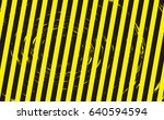 line yellow and black color... | Shutterstock .eps vector #640594594