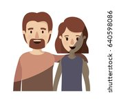 light color shading caricature... | Shutterstock .eps vector #640598086