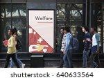 network graphic overlay banner... | Shutterstock . vector #640633564