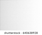 abstract halftone dotted... | Shutterstock .eps vector #640638928