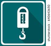 steelyard balance icon | Shutterstock .eps vector #640643650