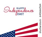 happy 4th of july  ... | Shutterstock .eps vector #640666564