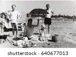 ussr  leningrad sestroretsk  ... | Shutterstock . vector #640677013