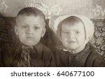 ussr  leningrad   circa 1951 ... | Shutterstock . vector #640677100