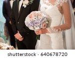 wedding | Shutterstock . vector #640678720