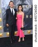 """Small photo of LOS ANGELES - MAY 08: Sebastian Roche and Alicia Hannah arrives for the 'King Arthur: Legend Of The Sword"""" World Premiere on May 8, 2017 in Hollywood, CA"""