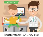 doctor and health care concept... | Shutterstock .eps vector #640727110