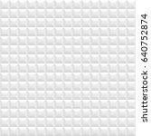 white seamless vector  pattern... | Shutterstock .eps vector #640752874