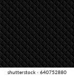 black seamless vector  pattern... | Shutterstock .eps vector #640752880