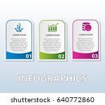vector illustration. template... | Shutterstock .eps vector #640772860