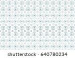 ornamental design. modern... | Shutterstock .eps vector #640780234