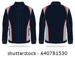 sport jacket design | Shutterstock .eps vector #640781530