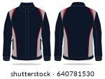 sport jacket design   Shutterstock .eps vector #640781530