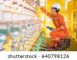 electrical and instrument... | Shutterstock . vector #640798126