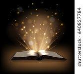 Magic Book With Magic Lights O...