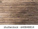 wood old plank vintage texture... | Shutterstock . vector #640848814