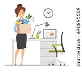 vector flat style illustration... | Shutterstock .eps vector #640895509