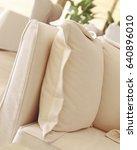modern design sofa | Shutterstock . vector #640896010