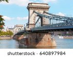 budapest  hungary. the famous... | Shutterstock . vector #640897984