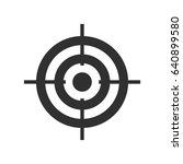 target | Shutterstock .eps vector #640899580
