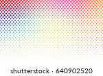 light multicolor vector red... | Shutterstock .eps vector #640902520