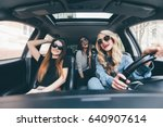 view of beautiful young... | Shutterstock . vector #640907614
