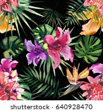 beautiful bright lovely... | Shutterstock . vector #640928470