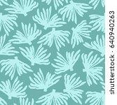 trendy sea seamless pattern... | Shutterstock .eps vector #640940263