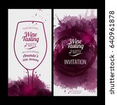 invitation template for event... | Shutterstock .eps vector #640961878