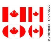 vector illustration of canada...   Shutterstock .eps vector #640970320