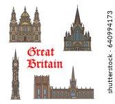British Travel Landmark Thin...