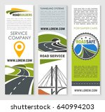 road construction and... | Shutterstock .eps vector #640994203