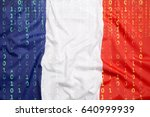 data protection  binary code...   Shutterstock . vector #640999939