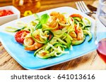 gourmet low carbohydrate... | Shutterstock . vector #641013616