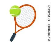 tennis icon | Shutterstock .eps vector #641026804