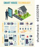 smart house technology... | Shutterstock .eps vector #641030398