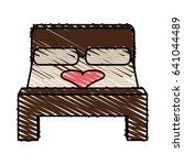 color crayon stripe image... | Shutterstock .eps vector #641044489