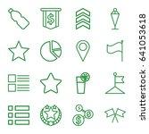 ui icons set. set of 16 ui...