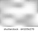 abstract halftone dotted... | Shutterstock .eps vector #641056270