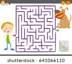 cartoon vector illustration of... | Shutterstock .eps vector #641066110