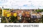 london  uk. aerial view of... | Shutterstock . vector #641075380