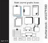 vector set of elements for... | Shutterstock .eps vector #641079580