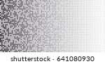 black and white abstract... | Shutterstock .eps vector #641080930