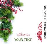 christmas   Shutterstock . vector #64108705
